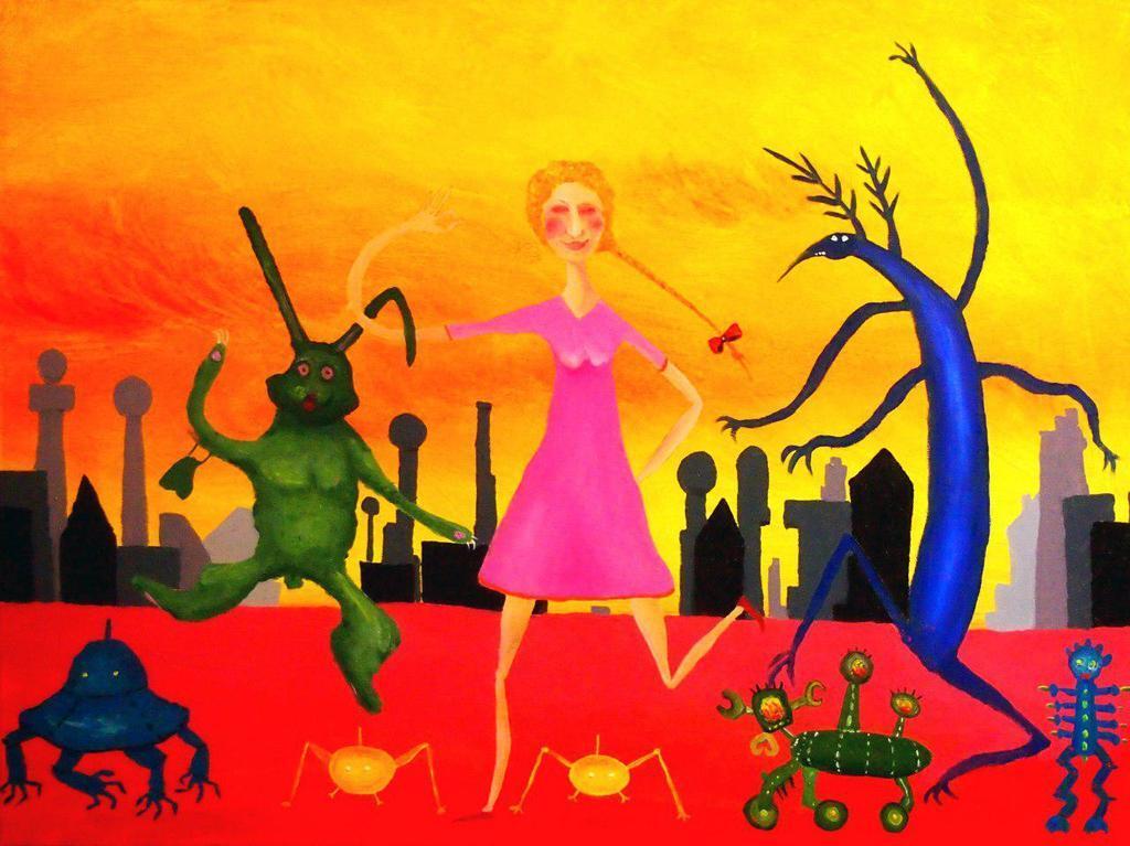 """У Києві відкриється виставка Олександра Ляпіна """"Дуже кольорові картини"""""""