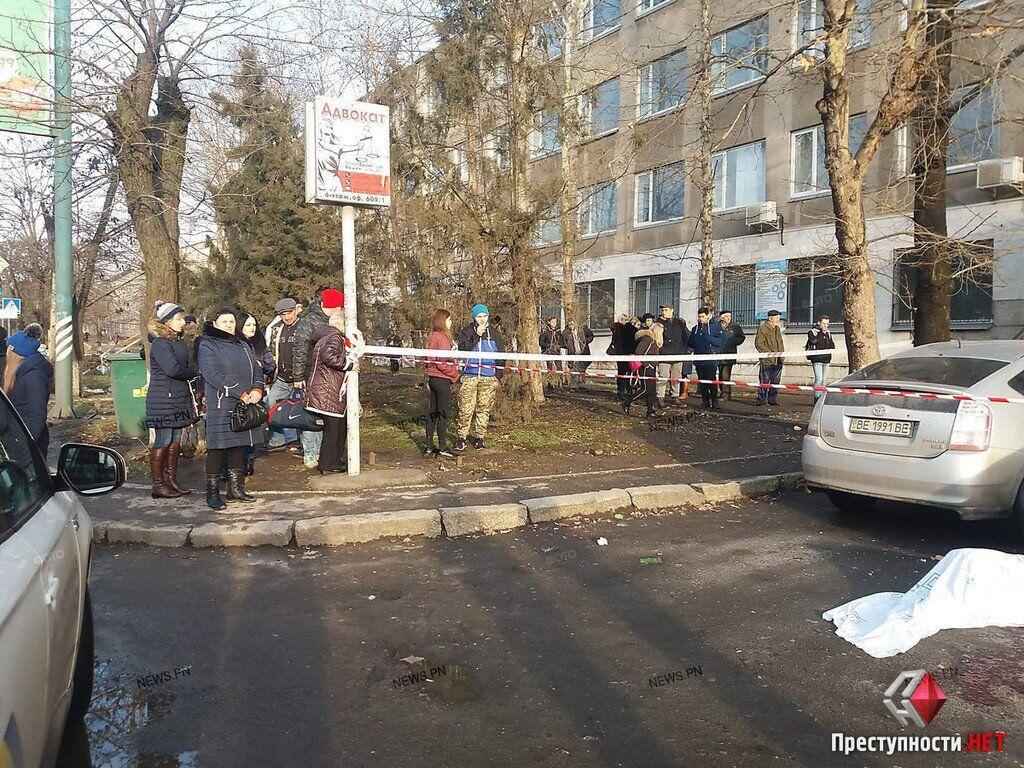 Стрілянина у Миколаєві