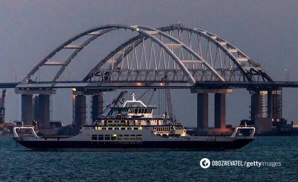 Тука розповів, навіщо Україна стежить за Кримським мостом