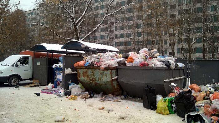 Сміттєвий колапс в РФ перетворив міста на сміттєзвалища