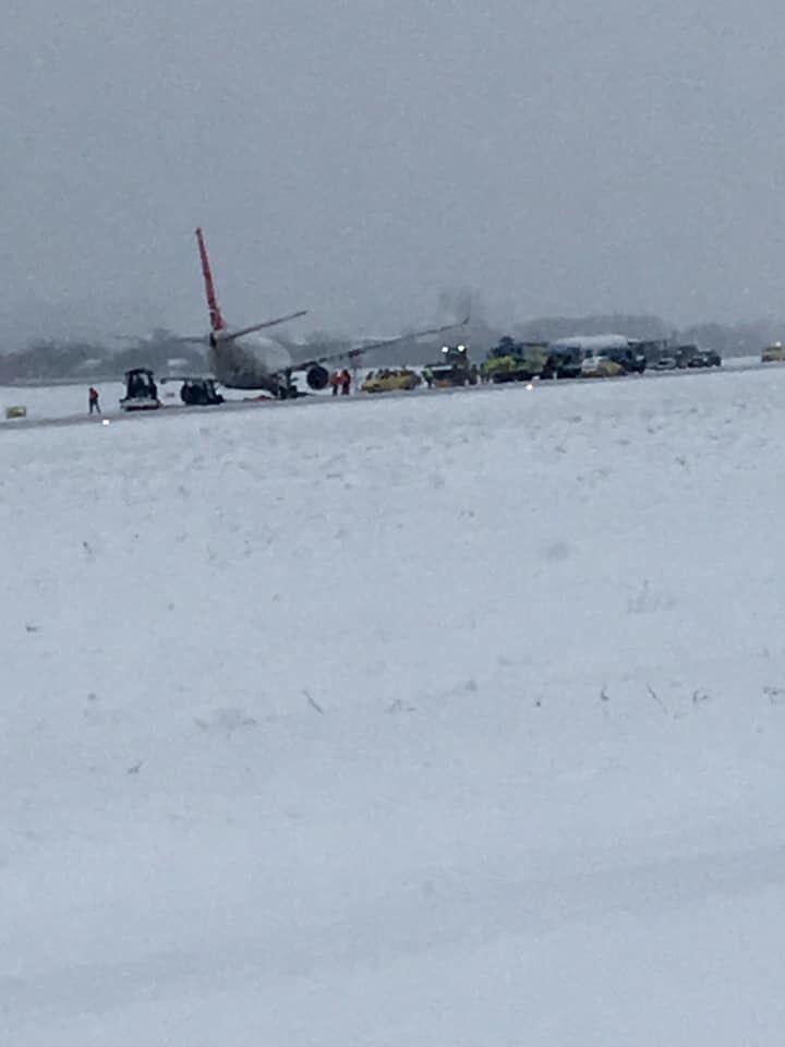 У Львові сталася НП із пасажирським літаком