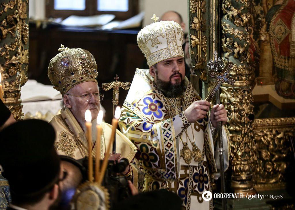 Церемония вручения Томоса об автокефалии Православной церкви Украины в Стамбуле