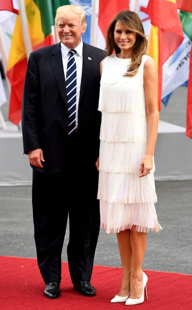 Дональд та Меланія Трампи