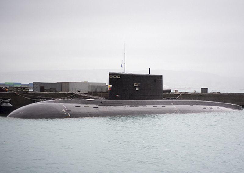 Подлодки ЧФ РФ во время учений в Черном море (2018 г.)