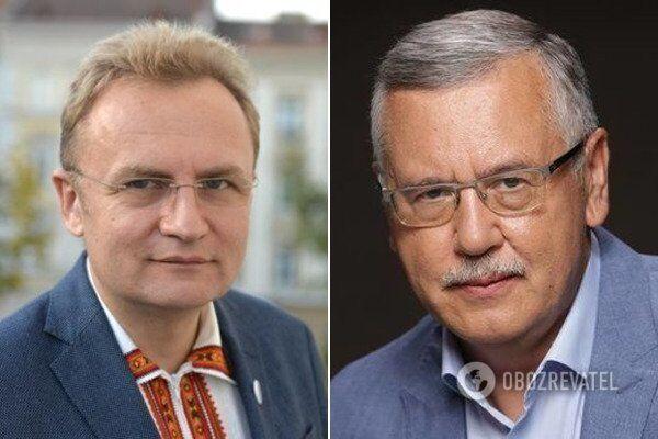 Андрій Садовий та Анатолій Гриценко