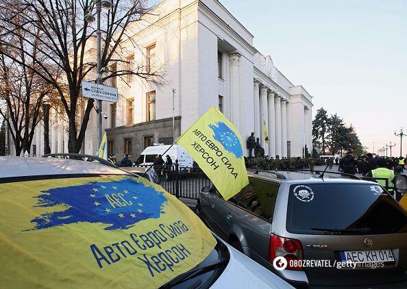 Нові штрафи і правила: що зміниться для водіїв в Україні