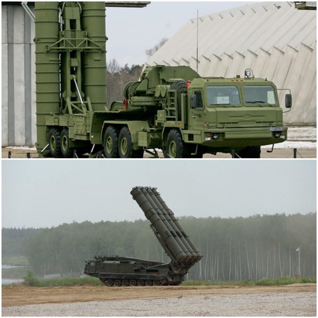 """На территории Крыма на боевом дежурстве пребывает четыре дивизиона российских зенитных ракетных систем С-400 """"Триумф"""". В одном полном дивизионе - 12 пусковых установок, каждая из которых несет по 4 ракеты."""
