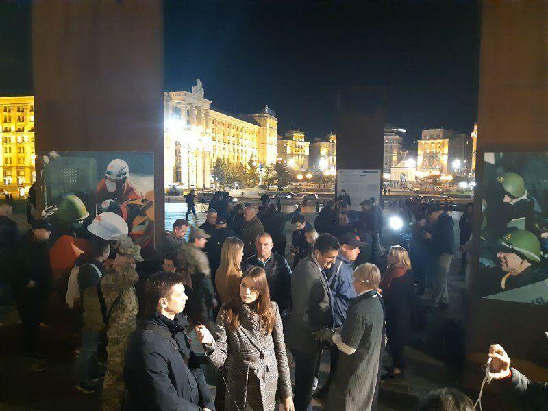 """""""Нет капитуляции!"""" Зеленскому устроили протесты в Киеве. Фото и видео"""