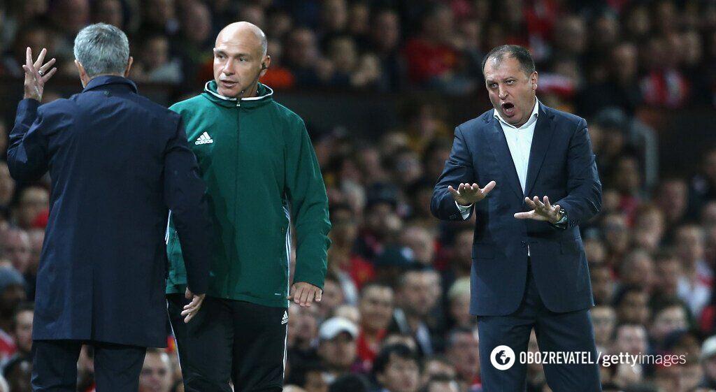 Юрій Вернидуб (праворуч) часто буває емоційним як під час, так і після матчу