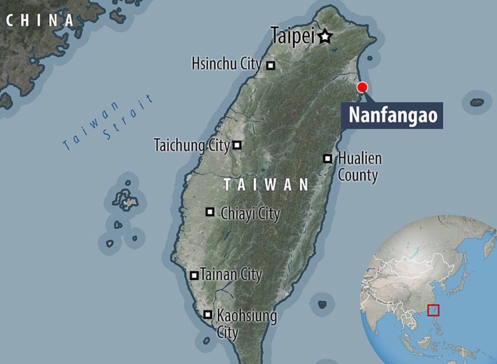 На Тайвані на людей упав найбільший міст