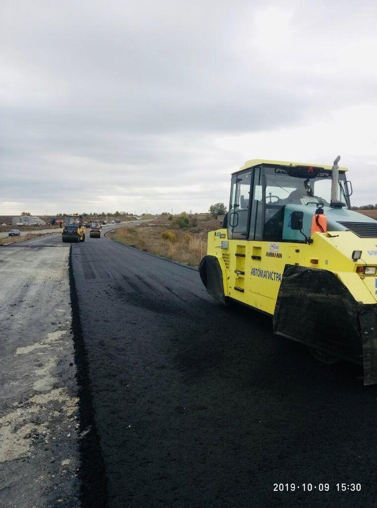 У Дніпрі відновили будівництво об'їзної дороги