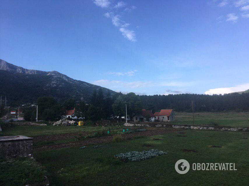 Село Негуші
