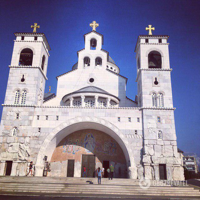 Собор Воскресіння Христового в Подгориці