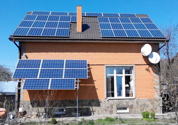 домашняя солнечная станция