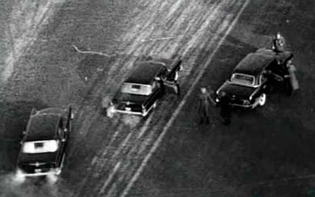 Момент покушения на Брежнева, когда был ранен Леонов