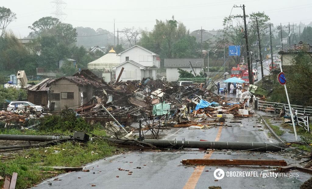 На Японію насувається тайфун Хагібіс