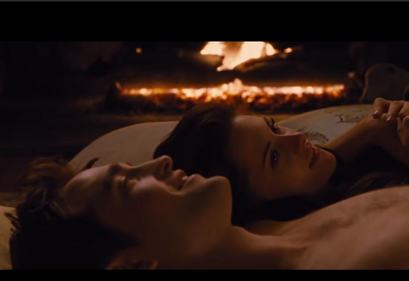"""Паттінсон і Стюарт у фільмі """"Сутінки"""""""