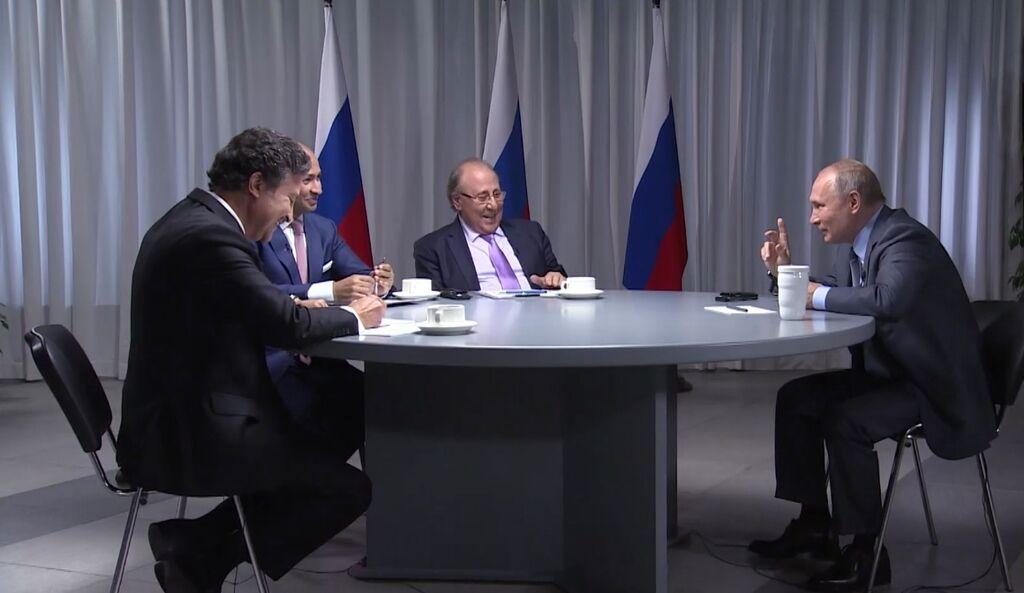 Інтерв'ю Володимира Путіна