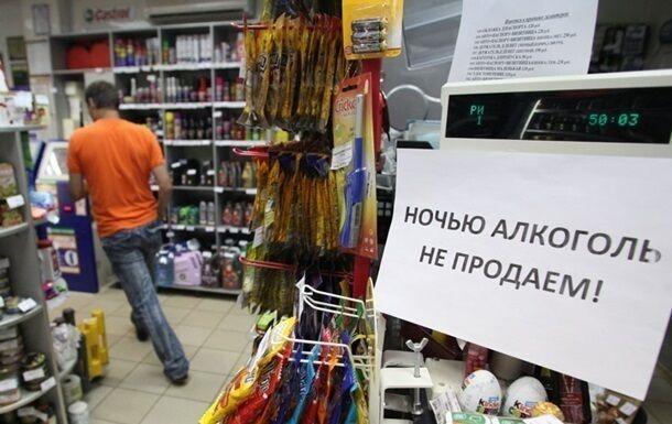 Заборона на продаж алкоголю у Києві: суд ухвалив рішення