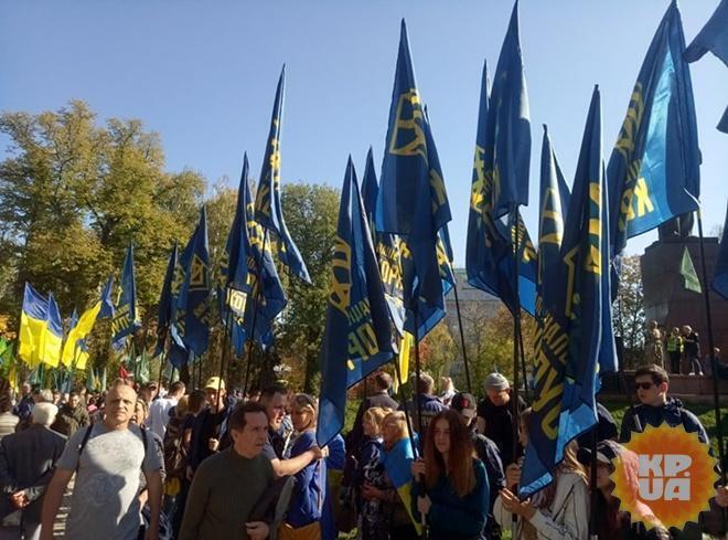 Марш націоналістів і ветеранів 3