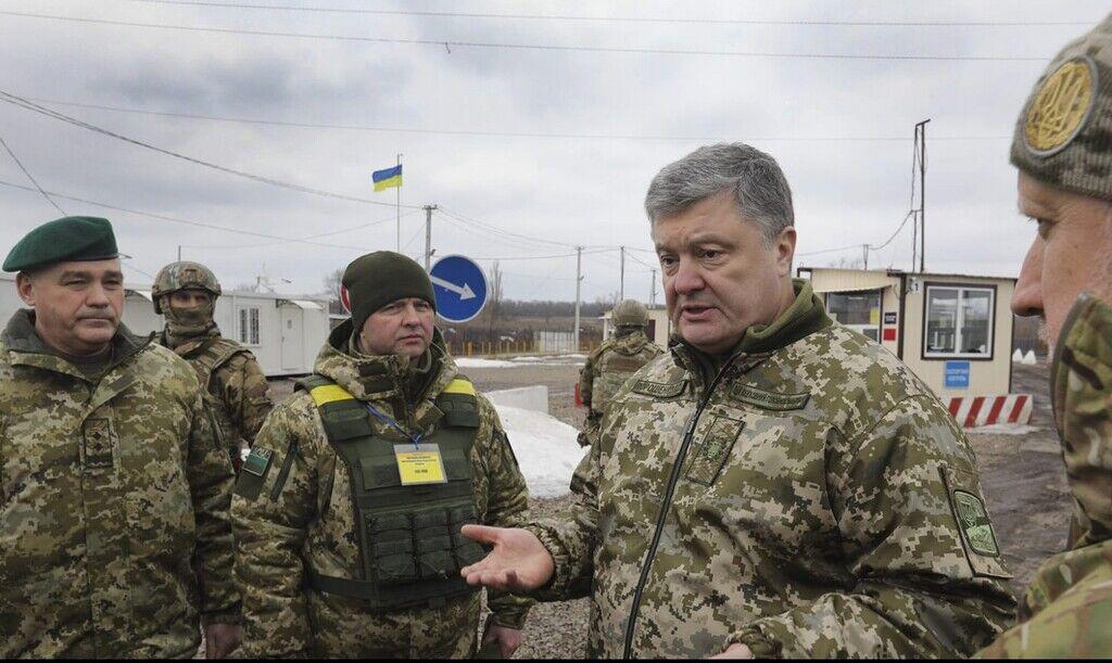 Петро Порошенко на Донбасі