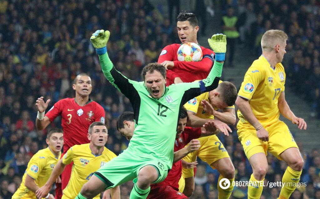 Украина — Португалия — 2:1