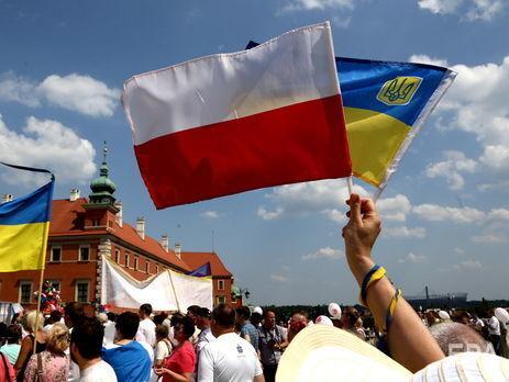 Українців у Польщі за різними підрахунками від 1 до 2 млн осіб