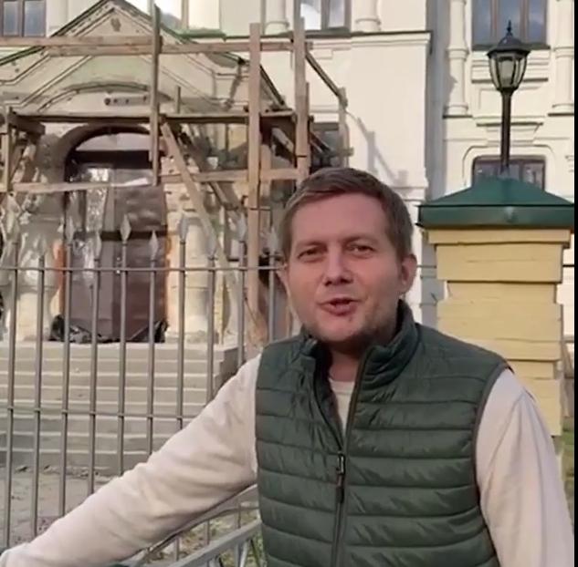 Борис Корчевніков приїхав до Києва