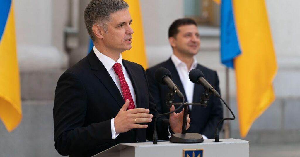 Вадим Пристайко та Володимир Зеленський