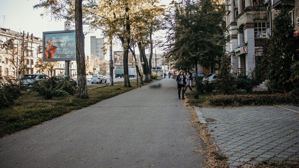 В Днепре на улице скончался мужчина