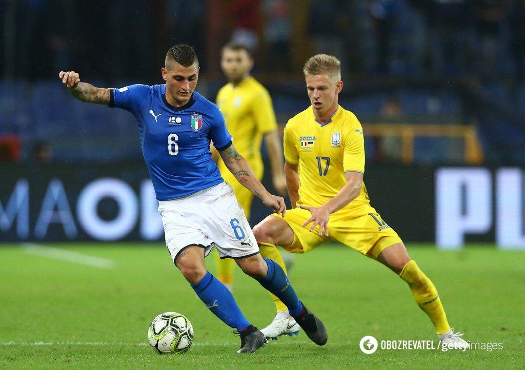 З Італією Україна може зустрітися на Євро-2020 не раніше 1/8 фіналу