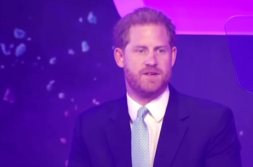 Принц Гаррі виступив зі зворушливою промовою про Маркл і сина
