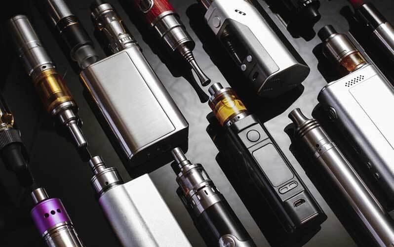 Виды электронных систем доставки никотина