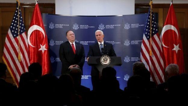 США и Турция договорились о прекращении войны в Сирии
