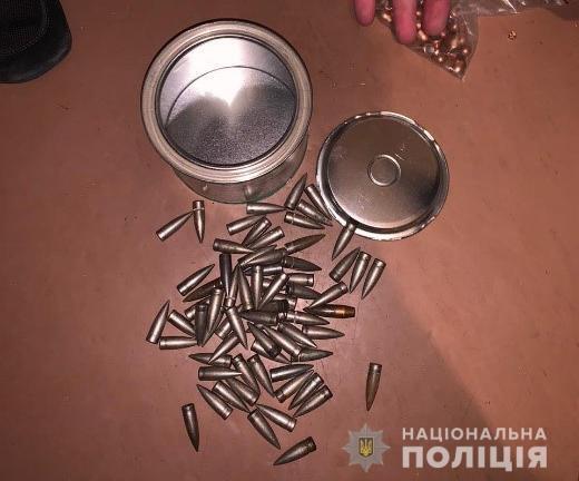Полиция нашла арсенал оружия и боеприпасов у жителя Кривого Рога