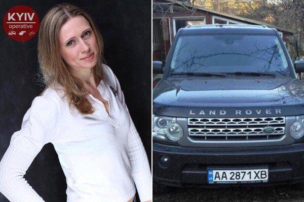 Елена Лисовая уехала на Range Rover