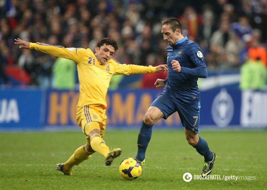 После удачного матча в Киеве Украина не смогла выстоять против Франции в ответном поединке