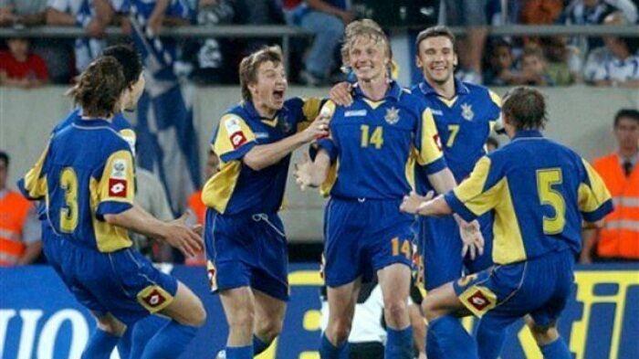 Гол Андрея Гусина (№14) в Афинах стал одним из важнейших в истории сборной Украины