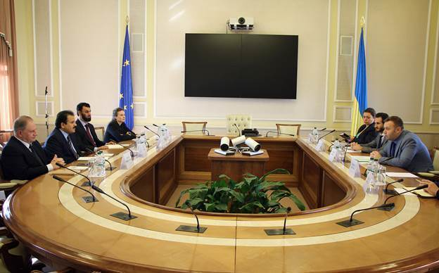 Зустріч глав міністерства і представників компанії Nebras Power