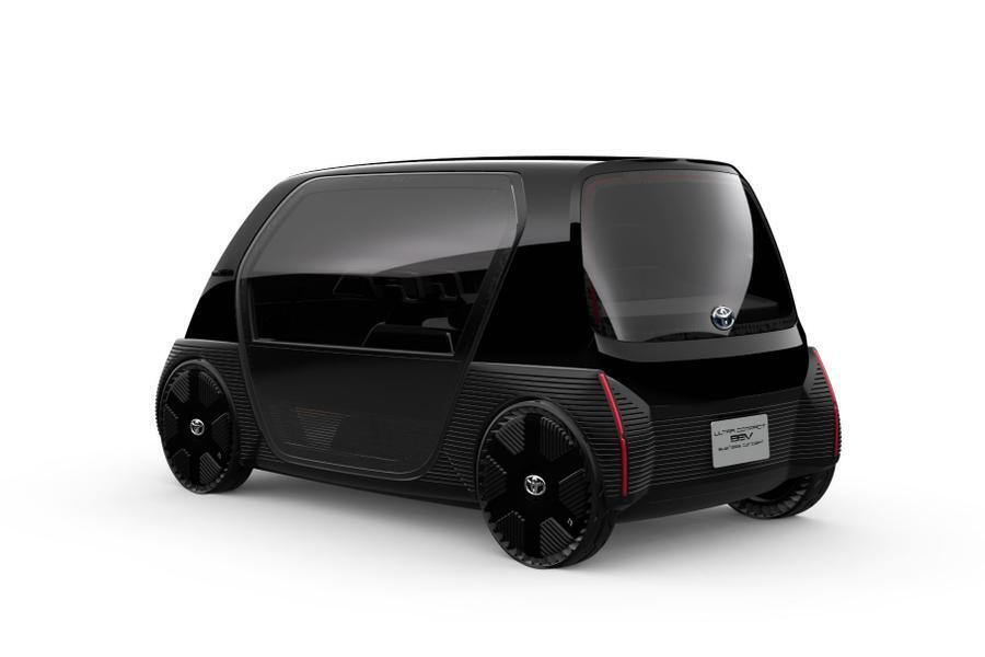 Toyota створила найменший електрокар-трансформер: фото
