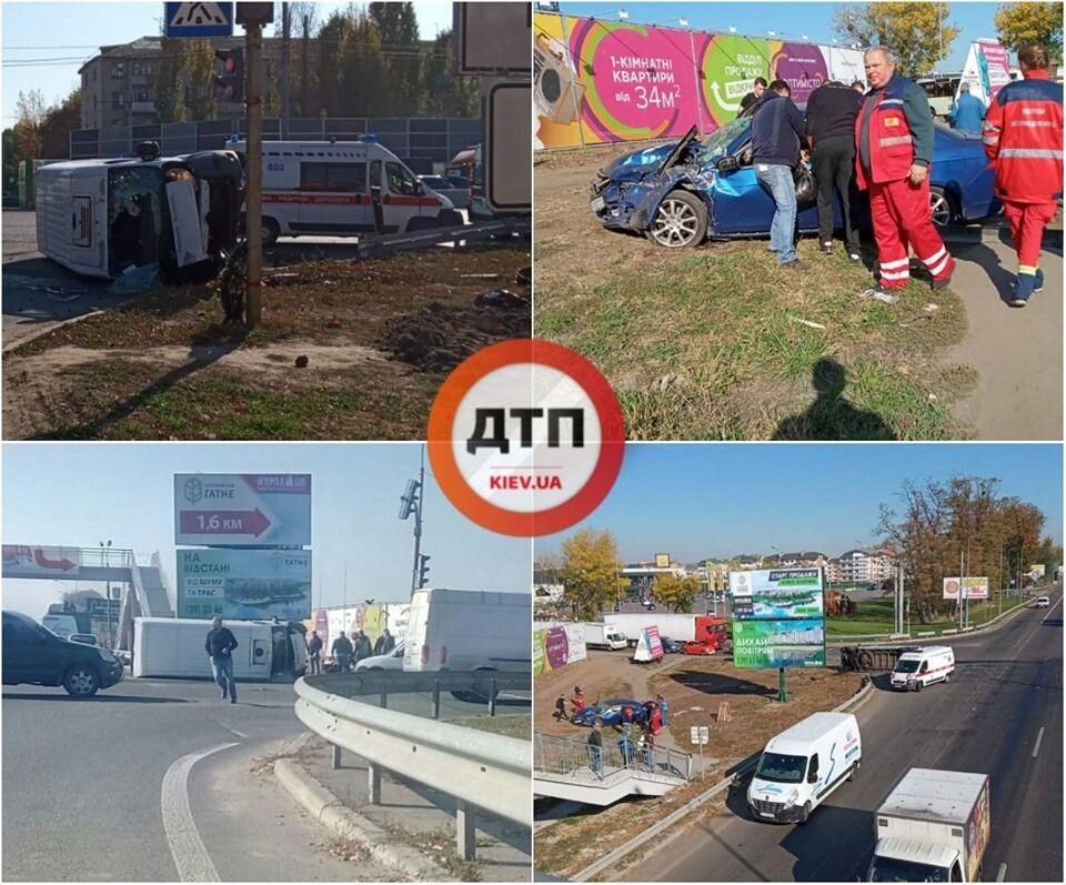 ДТП на Одесской трассе под Киевом