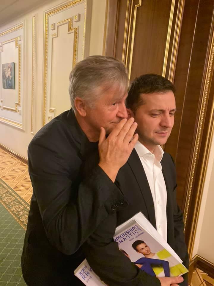 Станислав Боклан и Владимир Зеленский