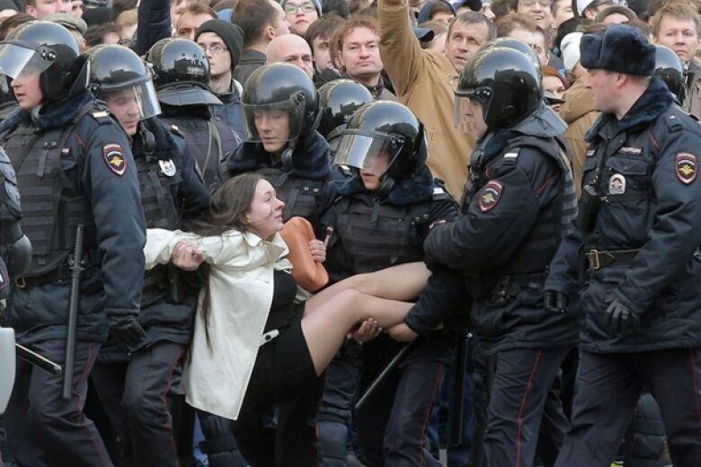 Арешти в Росії