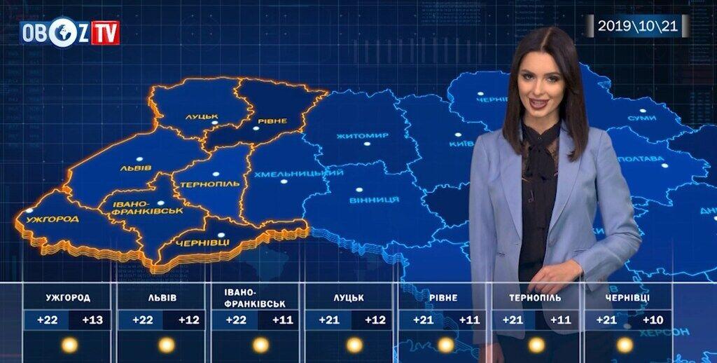 Погода как летом: прогноз на 21 октября от ObozTV