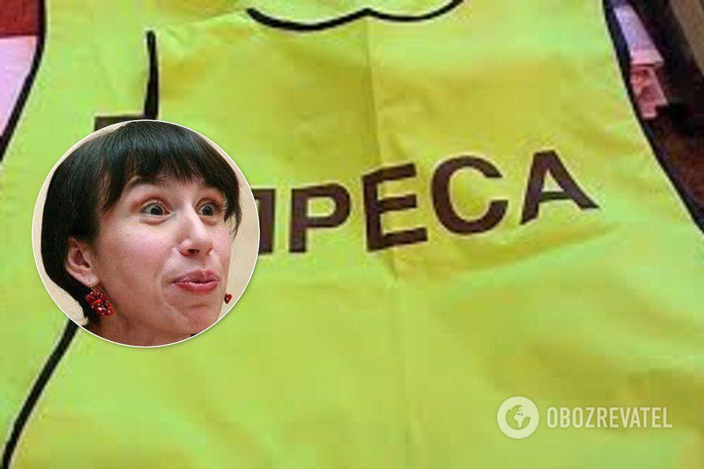 Тетяна Чорновол оскандалилася в бесіді зі ЗМІ