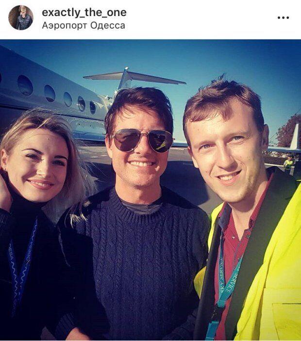Том Круз прилетів в Одесу