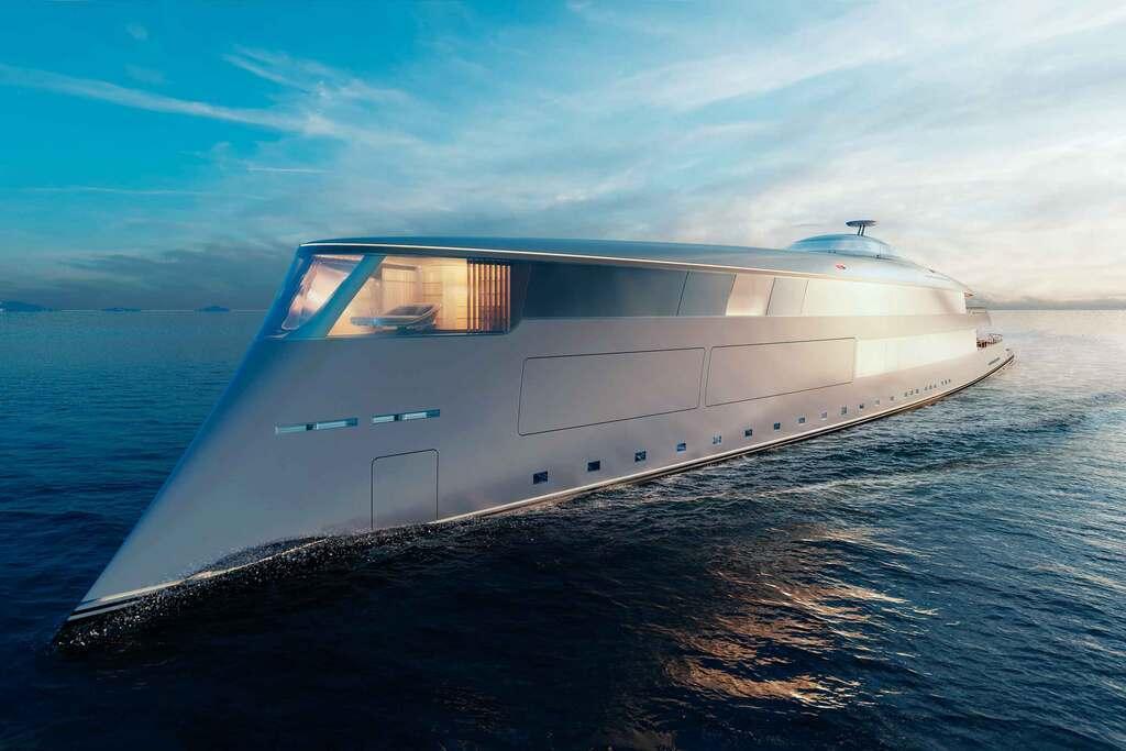 В сети показали фото яхты для эко-миллиардеров