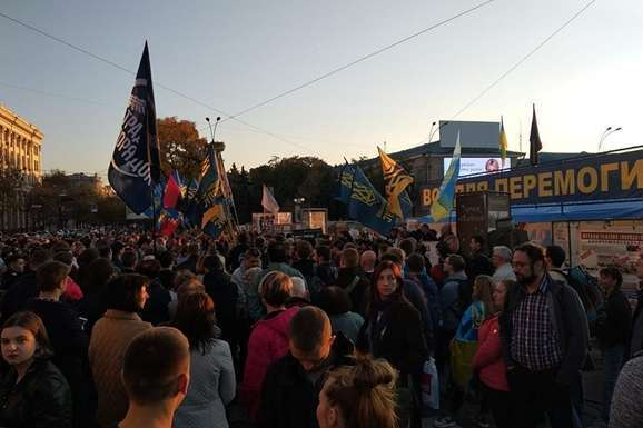 Протесты в Харькове