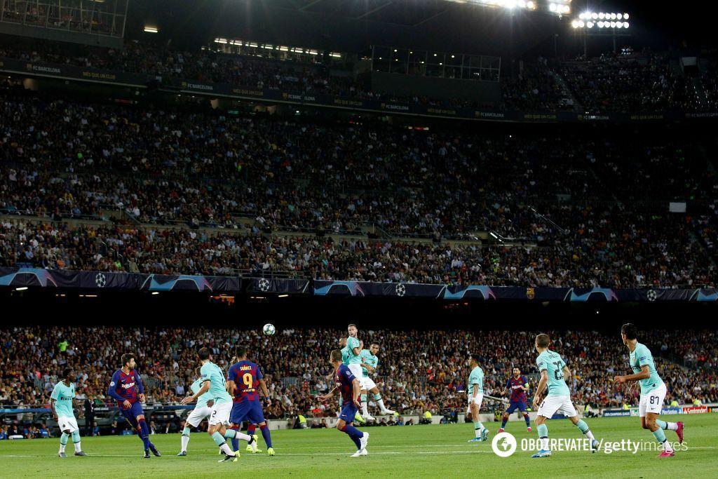 """Фантастика от """"Барселоны"""": результаты Лиги чемпионов 2 октября"""