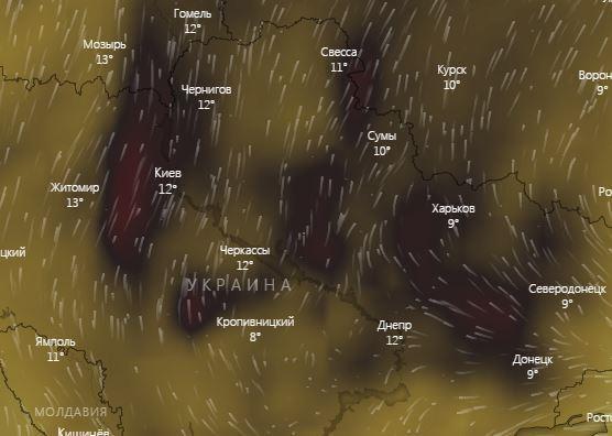 Украину накрыла паника из-за дыма и грязного воздуха